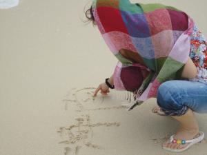 海南島のビーチの砂はハワイよりサラサラ